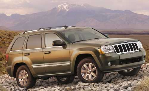 ������� �������� Jeep 2008