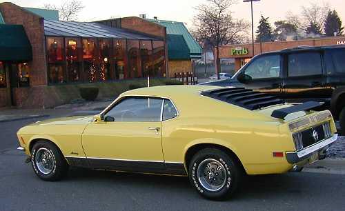 Black 1970 Mustang Mach 1. this 1970 Mustang Mach 1.