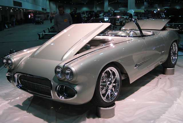 His 62 Corvette is fitted