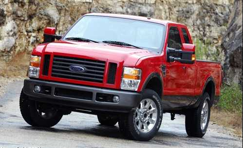 2008 Ford F250 Owners Manual
