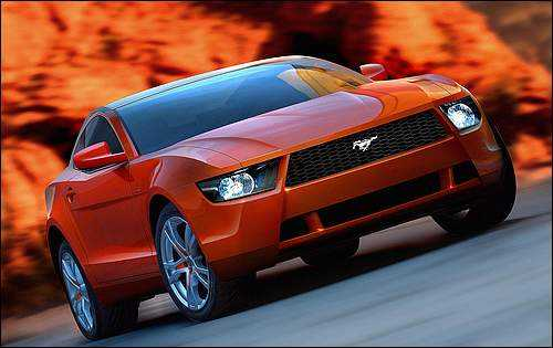 2009 Ford Mustang Wallpaper