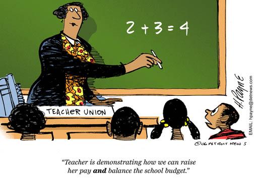 teacher union idiots