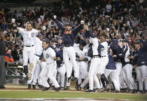 Detroit Tigers: AL champs